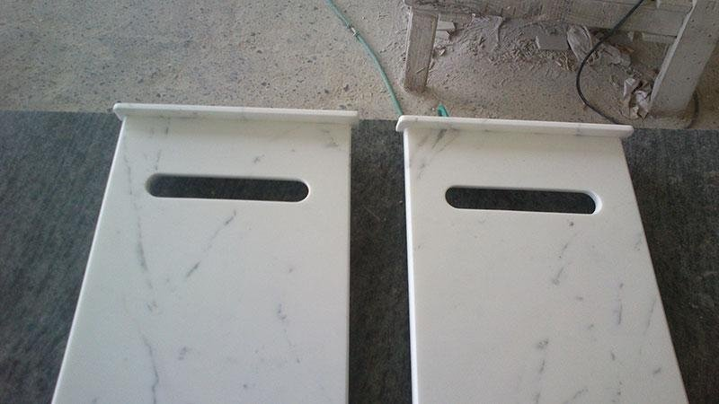 buche per lettere in marmo