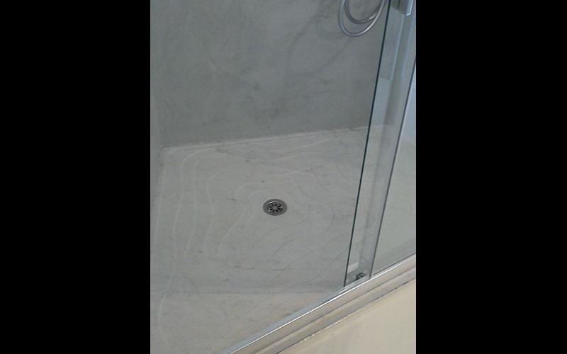 piatto doccia onde in bianco michelangelo