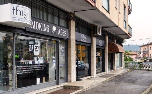 Ingresso Smoking Aces a Gaggiolo di Cantello (VA)