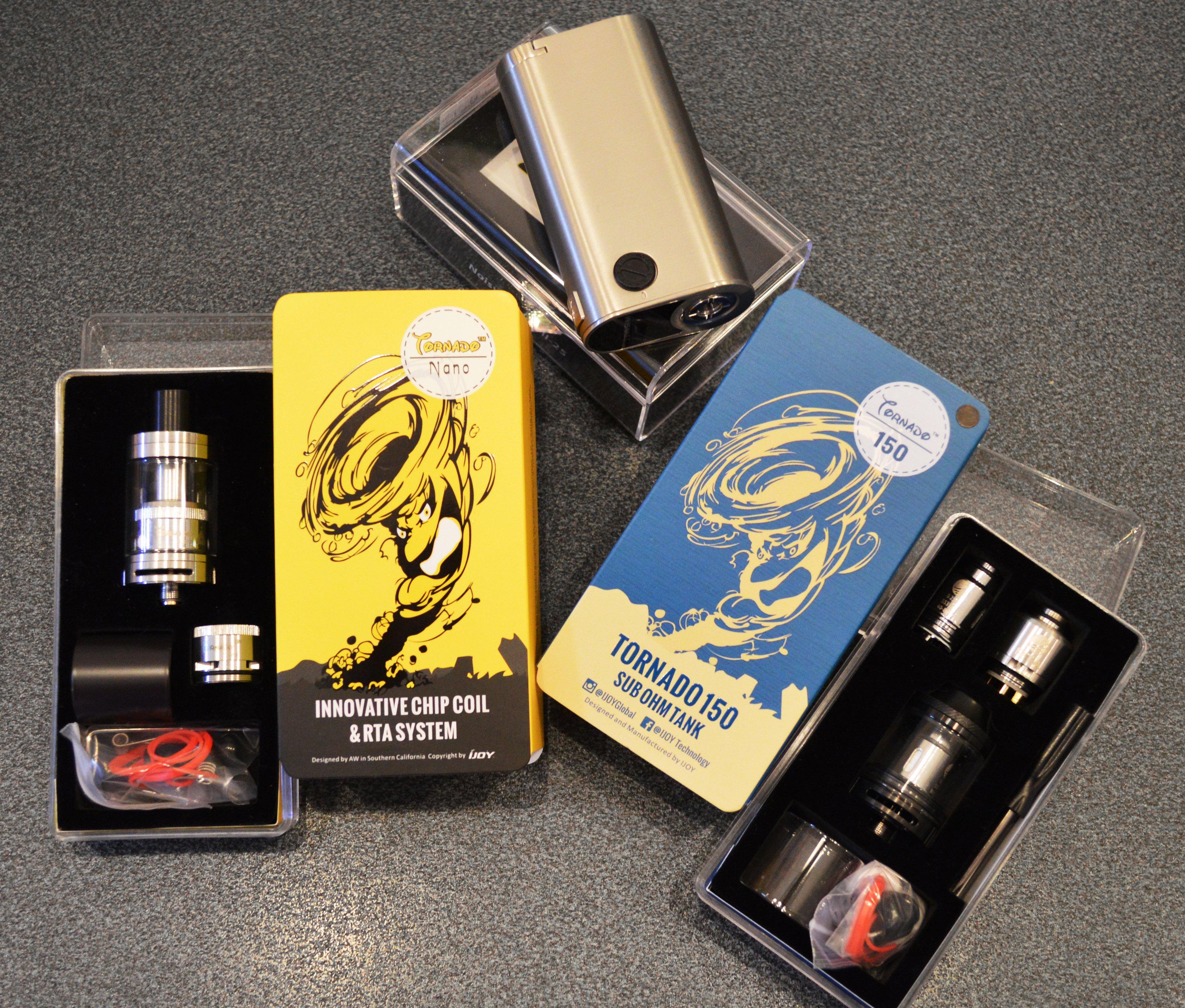 Atomizzatori presso Smoking Aces a Gaggiolo di Cantello (VA)
