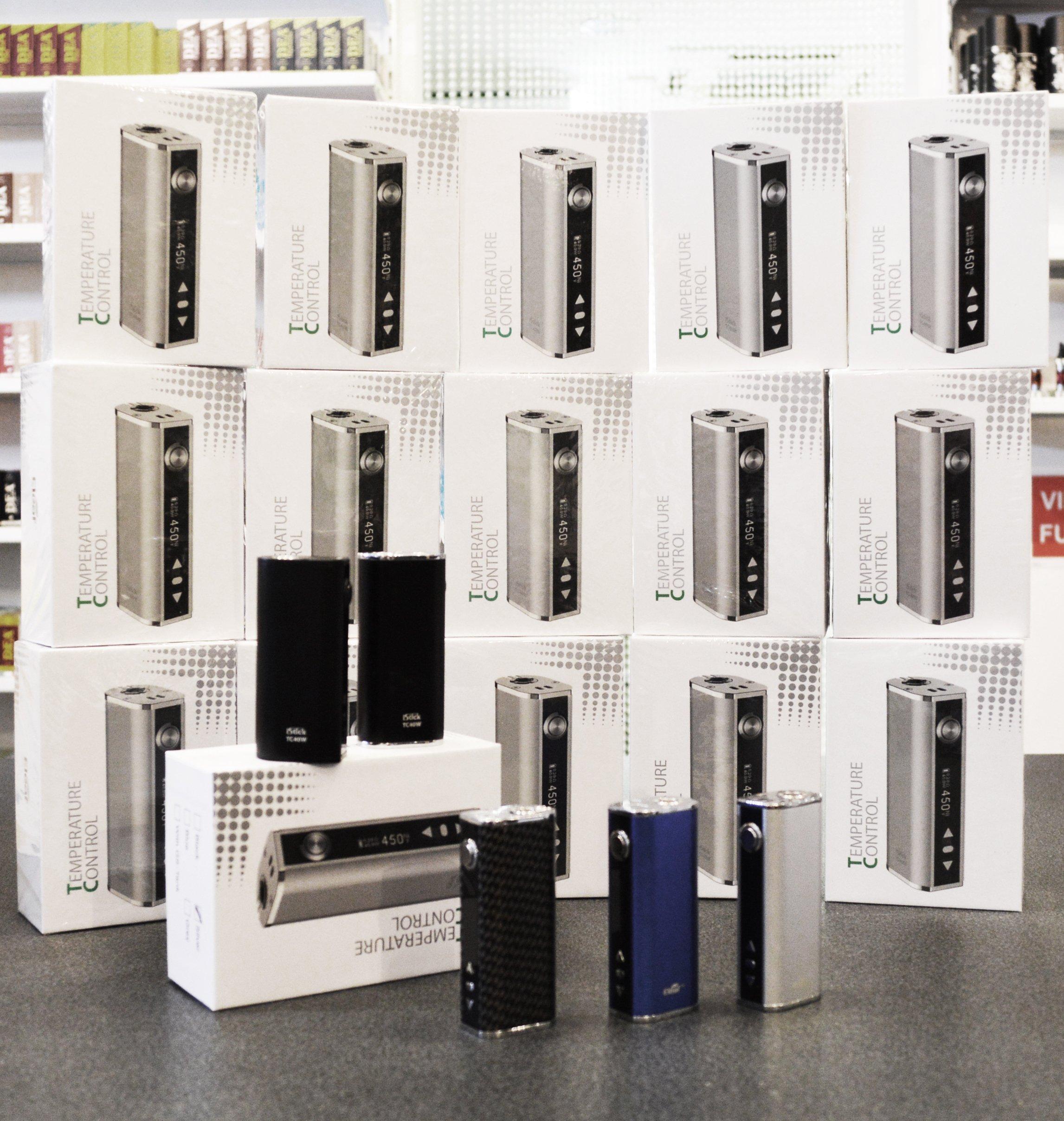 Batterie Istick 40 presso Smoking Aces a Gaggiolo di Cantello (VA)