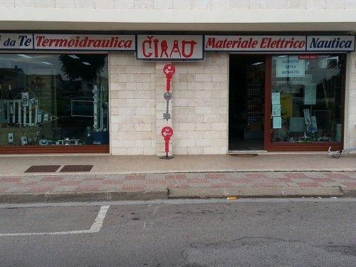 Moderna e originale facciata del business