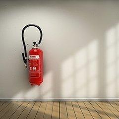 antincendio estintori