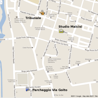mappa Studio Malcisi