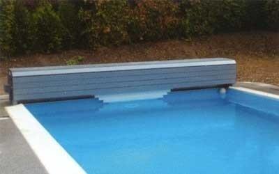 Copertura piscina a tapparella