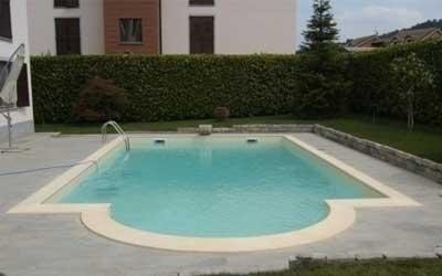Realizzazione piscina a skimmer