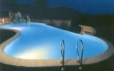 Sistema illuminazione piscina