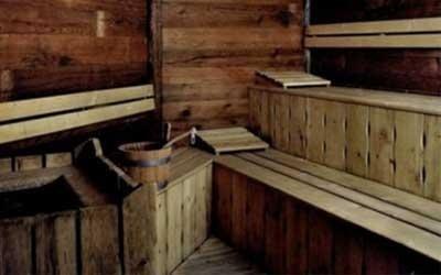 Sauna centro benessere