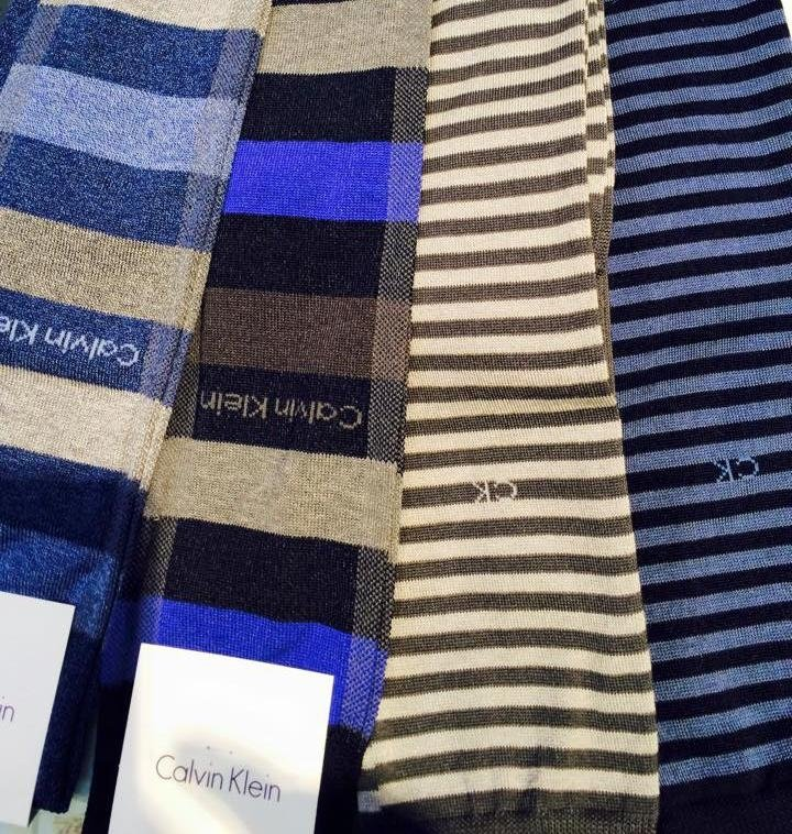 Calvin Klein righe e quadri lungo