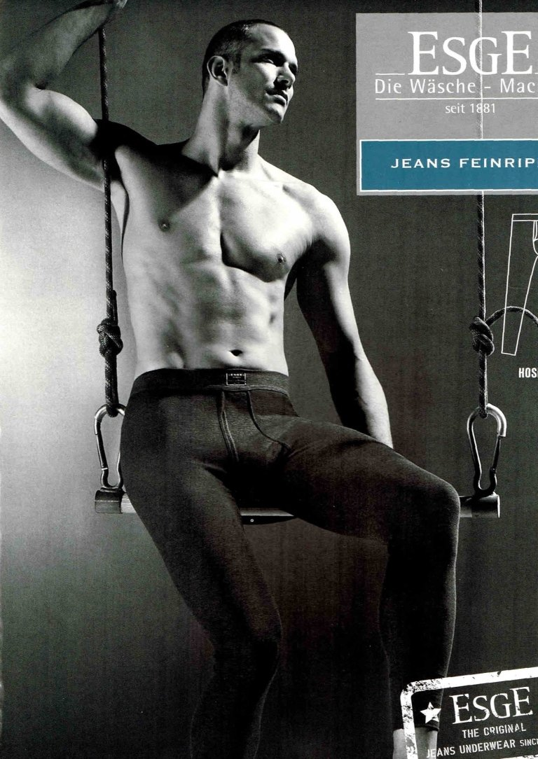 legging uomo jeans