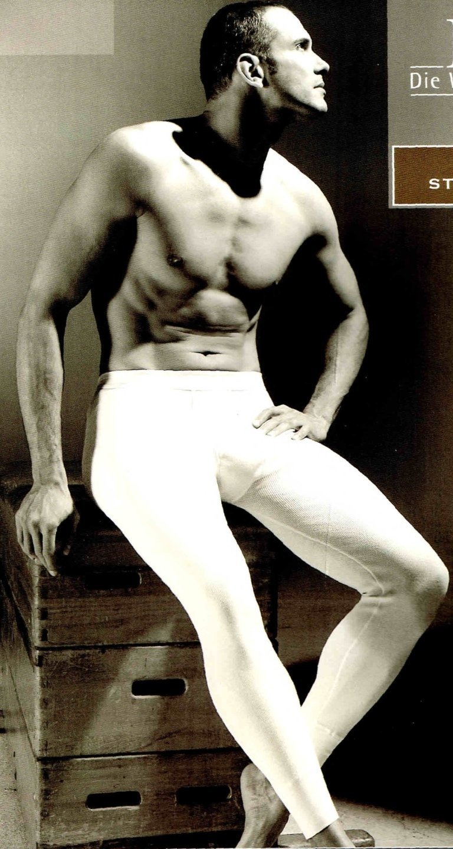 legging uomo cotone