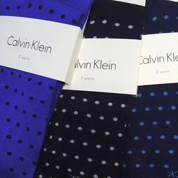 Calvin Klein pois corto