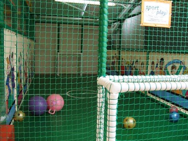 Kids' indoor play area