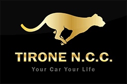 TIRONE NCC NOLEGGIO AUTO CON CONDUCENTE - LOGO