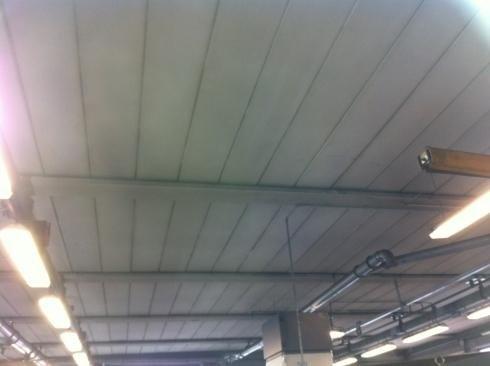 BONIFICA CONTROSOFFITTO_COPERTURA + NUOVO CONTROSOFFITTO PANNELLO SANDWICH E COPERTURA EPS