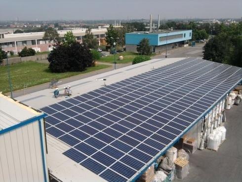 rivestimento pannelli solari
