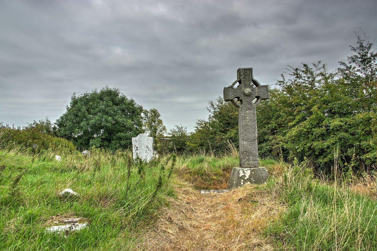 VisitingKells.ie - The South Cross at Castlekeeran
