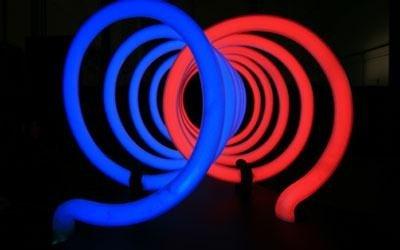 sculture luminose