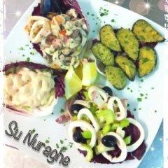 insalata di mare, antipasti di mare, cozze gratinate, cocktail di gamberi