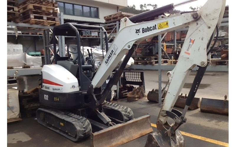 Noleggio escavatore Bobcat