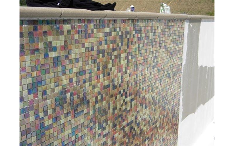 Rivestimento con mosaico