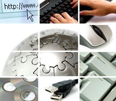 negozio di accessori per computer