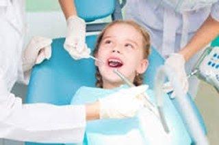 dentista per l'infanzia