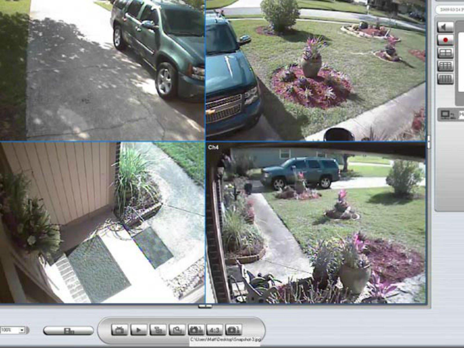 immagini riprese da telecamere di sicurezza