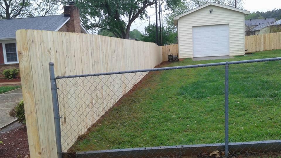 Wood Fence Installation Gastonia, NC