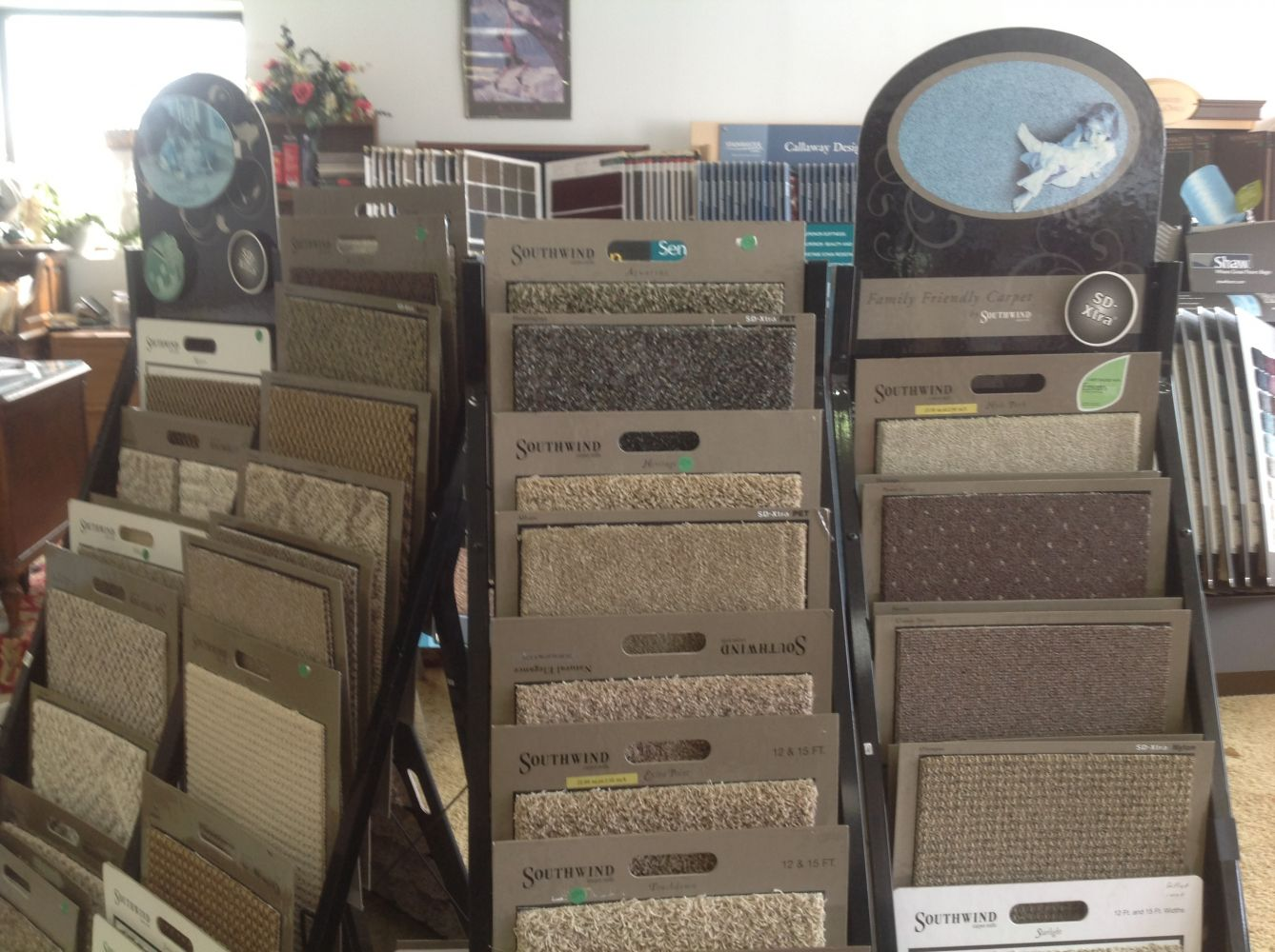 The market for new carpets for your Hamilton, OH