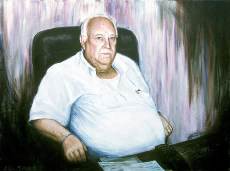 Beni - Mayor of lower Galilee, a portrait capturing a man who knew whom to call and achieved much for the lower Galilee.