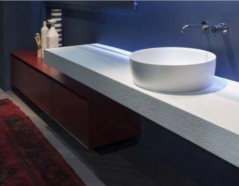 lavello in pietra, bagno linerare
