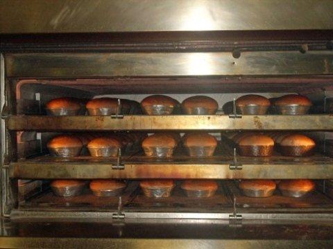 Cottura in forno professionale