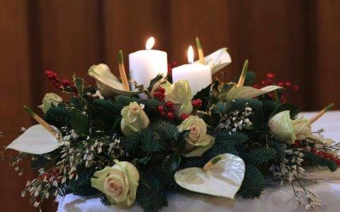 Allestimento funebre elegante - Cerea