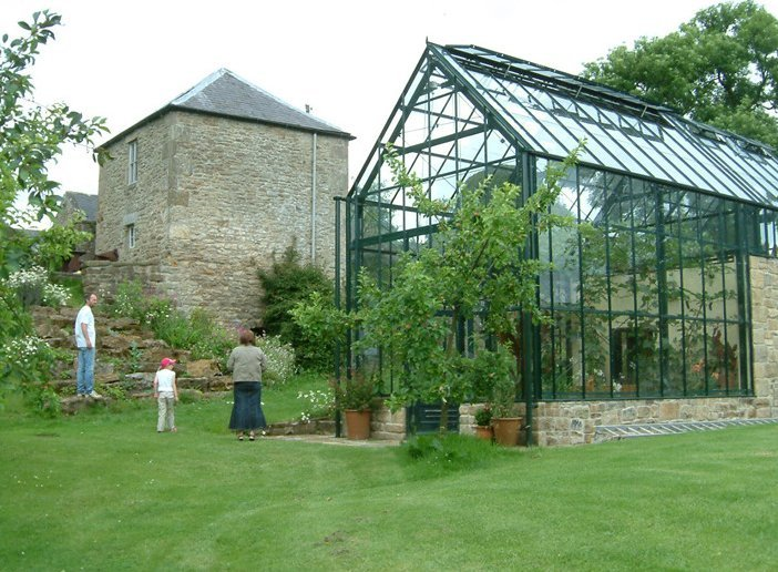 garden glass house