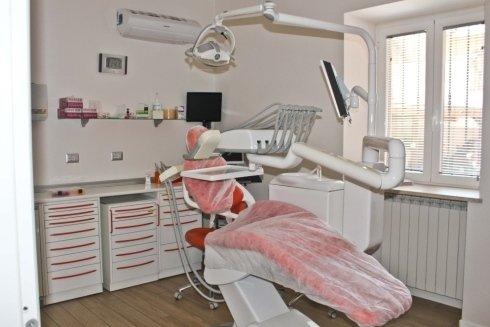 Poltrona odontoiatrica