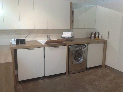 Lavelli e lavatrice