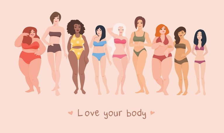 Women come in all sizes, shapes and colors. Love your body. Dr. Michael Workman