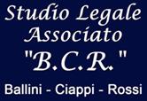 STUDIO LEGALE ASSOCIATO B.C.R. - LOGO