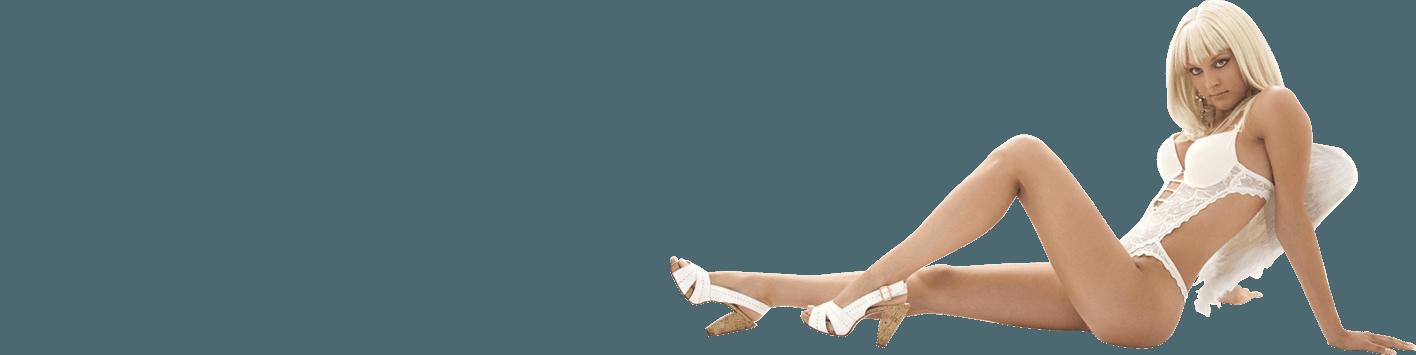 Donna vestita con lingerie sexy