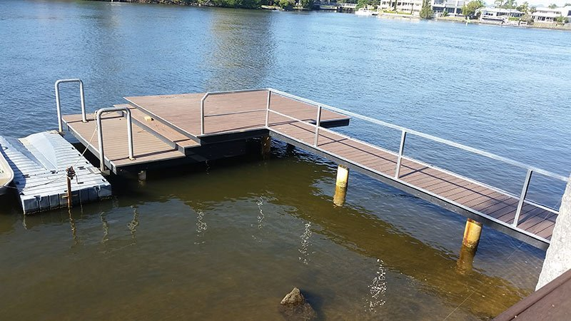coastal pontoon and jetty repairs new jetty and pontoon
