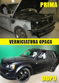 Verniciatura Opaca - Autocarrozzeria Motor System