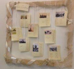 Composizioni per cerimonia, tableau matrimoni