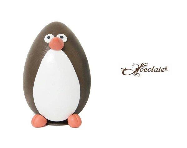 uova di pasqua a forma di pinguino