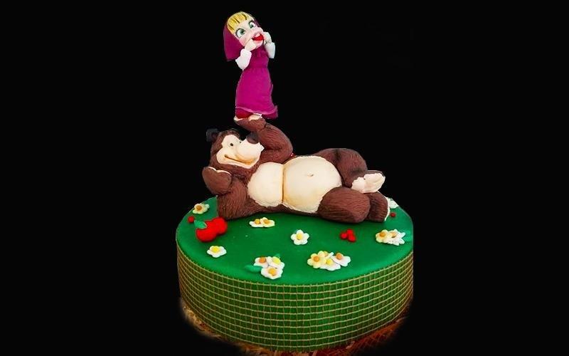 torta masha e l'orso