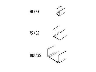 guide acciaio zincato