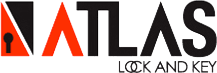 atlas lock and key logo