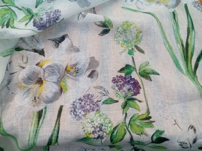 tessuto floreale tovaglia