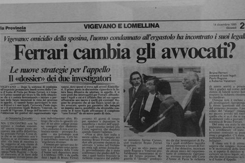 articolo indagini vigegano