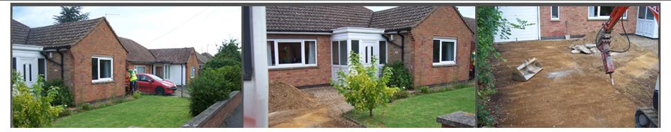 Driveways - Kettering - L.U.V Construction & Groundwork Ltd - Groundwork services